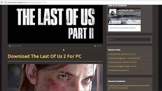 How To Download The Last Of Us 2 For PC(3 Super Easy Steps!!!) 2018