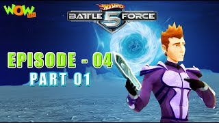 Motu Patlu presents Hot Wheels Battle Force 5 - Basic Training - Episode 4-P1 - in Hindi