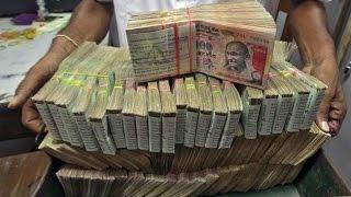 black money caught in india
