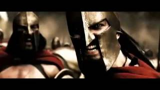 King Leonidas and 300 vs Persians