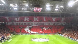 ultrAslan Türkiye Koreografisi - Galatasaray Atletico Madrid
