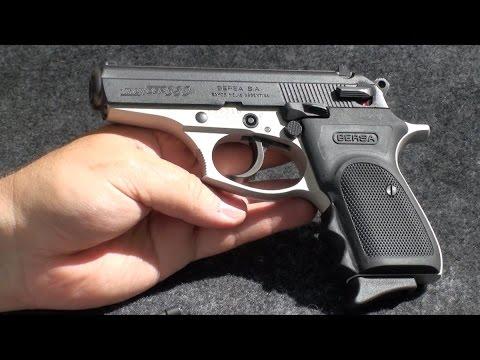 Pistola Argentina Bersa Thunder .380 en Español