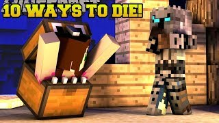 Minecraft: THESE DEATHS ARE INSANE!!! 10 MORE WAYS TO DIE 2 - Custom Map