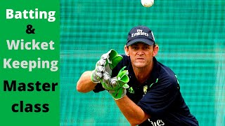 Batting and Wicket Keeping Masterclass with Adam Gilchrist HD