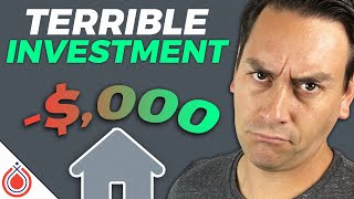 Why Owning The Home You Live in is a Terrible Investment