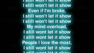 Tyga - Let it Show Featuring J Cole [Lyrics On Screen]
