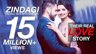 Zindagi | Akhil | A True Love Story | Ramandeep 😍 Parminder | Best Indian Pre Wedding Video 2017