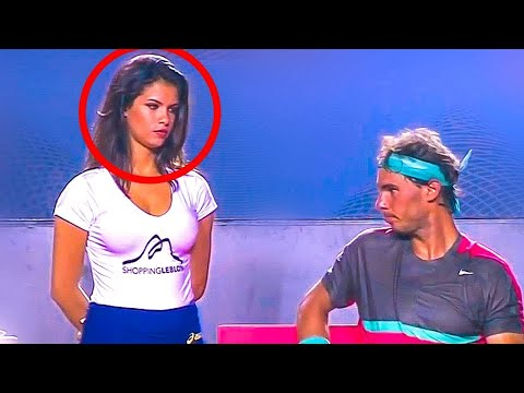 Xxx Mp4 Hottest Ball Girl In Tennis History Staring At RAFAEL NADAL 3gp Sex