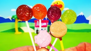 アンパンマン アニメ おもちゃ ペロペロチョコとペロペロキャンディーをみんなでたべよう❤ アンパンマン お菓子 Anpanman Toy