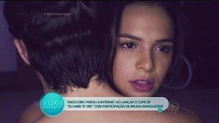 """""""Amei Te Ver"""": Tiago Iorc fala sobre clipe com Bruna Marquezine e canta na Xuxa"""