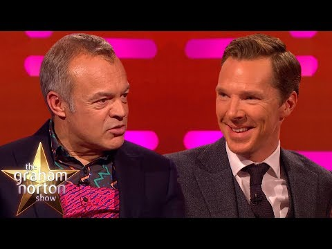 Graham Norton LOVES Benedict Cumberbatch