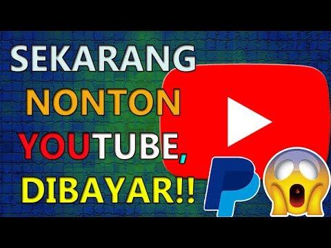 NONTON VIDEO YOUTUBE, SEKARANG BISA DAPAT UANG | KAMU HARUS MENCOBANYA