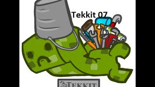 Tekkit Ep07 The door bell drama