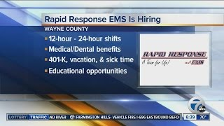 Workers Wanted: Rapid Response EMS is hiring