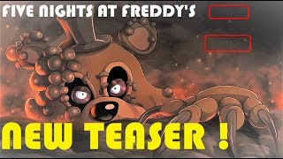 TOY FREDDY OR A NEW ANIMATRONIC? [NEW FNAF TEASER]
