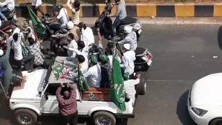 BJP PARTY  VS  MIM PARTY  IN  KURLA