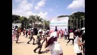 Women's Day flash mob in Timor-Leste