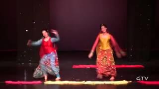 Manpreet and Naina @ Warrior Bhangra 2012