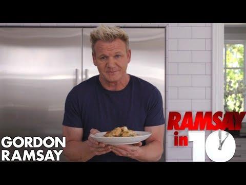 Gordon Ramsay Cooks Shrimp Scampi In Just 10 Minutes Ramsay in 10