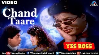 Chand Taare Tod Laoon Full Video Song | Yes Boss | Shahrukh Khan, Juhi Chawla | Abhijeet