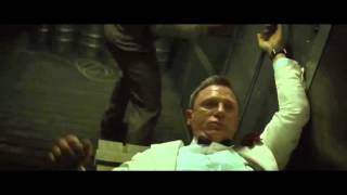 007 Spectre- Train Fight Scene