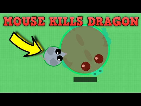 MOUSE KILLS DRAGON IN MOPE.IO! Funny Moments & Trolling Mope.io! (Mope.io New Update)