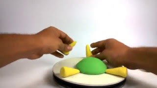 Clay modeling for kids | How to make clay Turtle | clay modelling tutorial / Art lessons