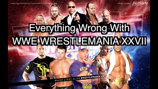 Episode #90: Everything Wrong With WWE WrestleMania 27