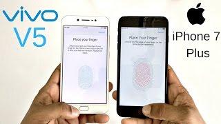 Vivo V5 vs iPhone 7 Plus Fingerprint Scanner Speed Test! Which Is Faster?
