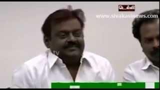 Extreme ROTFL - Better than Lollu Sabha - Captain Vijayakanth's Delhi Press Meet