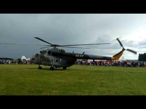 Czech air force Mil Mi-17 take off