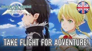 Sword Art Online: Lost Song - PS4/PS Vita - Take flight for adventure! (English Trailer)