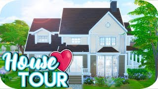THE SIMS 4 // SINGLE MOM LIFE NEW HOUSE TOUR!😍🏡