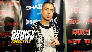 Quincy Freestyle on Sway In The Morning
