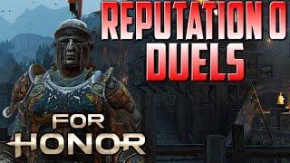 [For Honor] Centurion Reputation 0 Duels