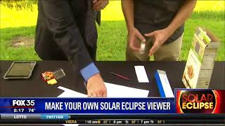 Make Your Own Solar Eclipse Glasses