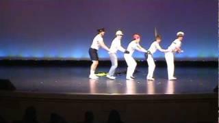 Senior Men's Dance Routine : The Village People- Macho Man