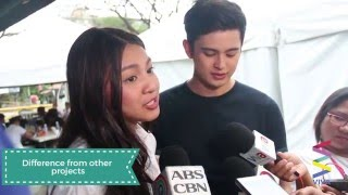 James and Nadine reacts on NEW movie, This Time!