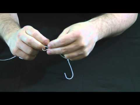 How To Tie A Palomar Knot