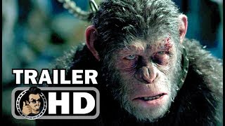 """WAR FOR THE PLANET OF THE APES """"I Came For You"""" Clip + Trailer (2017) Sci-Fi Movie HD"""