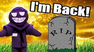 FNAF Plush - Purple Guy is Alive!