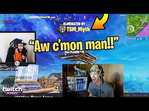 Ninja Reacts to Fortnite Funny Fails and WTF Moments Twitch Moments Reaction Ep. 223