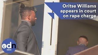 Former JLS star Oritse Williams appears in court on rape charge