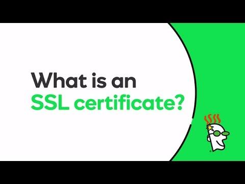 What is an SSL certificate? | GoDaddy
