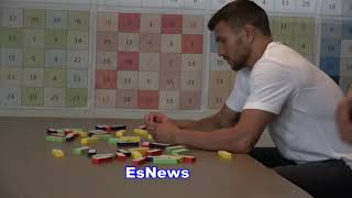 Vasyl Lomachenko Working On Focus &  Brain Exercises Right After A Long Boxing Workout