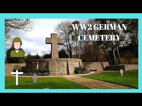 Xxx Mp4 The WW2 GERMAN CEMETERY From The 1944 BATTLE Of The BULGE Ardennes Luxembourg 3gp Sex