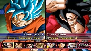 DRAGON BALL Z BUDOKAI TENKAICHI 3 VERSION LATINO FINAL GAMEPLAY DBH VS DBS