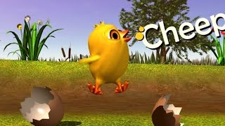 The Little Chick Cheep - Pollito Pío (Original English Version)