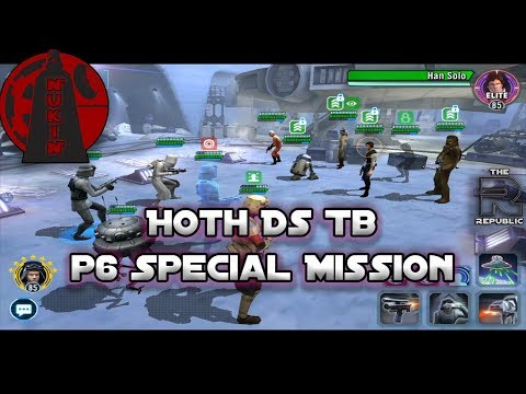 Xxx Mp4 P6 Hoth Ds Tb Special Mission Guide Teams For SM And CMs In P6 Star Wars Galaxy Of Heroes 3gp Sex