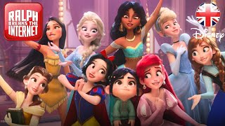 RALPH BREAKS THE INTERNET   She is a Princess Clip   Official Disney UK